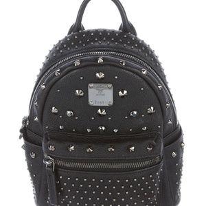 MCM  Mini Stark Bebe Boo Studded Backpack